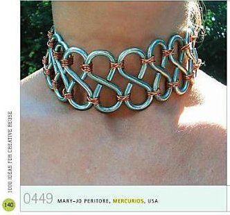 "Hardcore Steel Choker featured in the book ""1000 Ideas for Creative Reuse"" - Page 140"