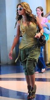 Beyonce taken at LAX