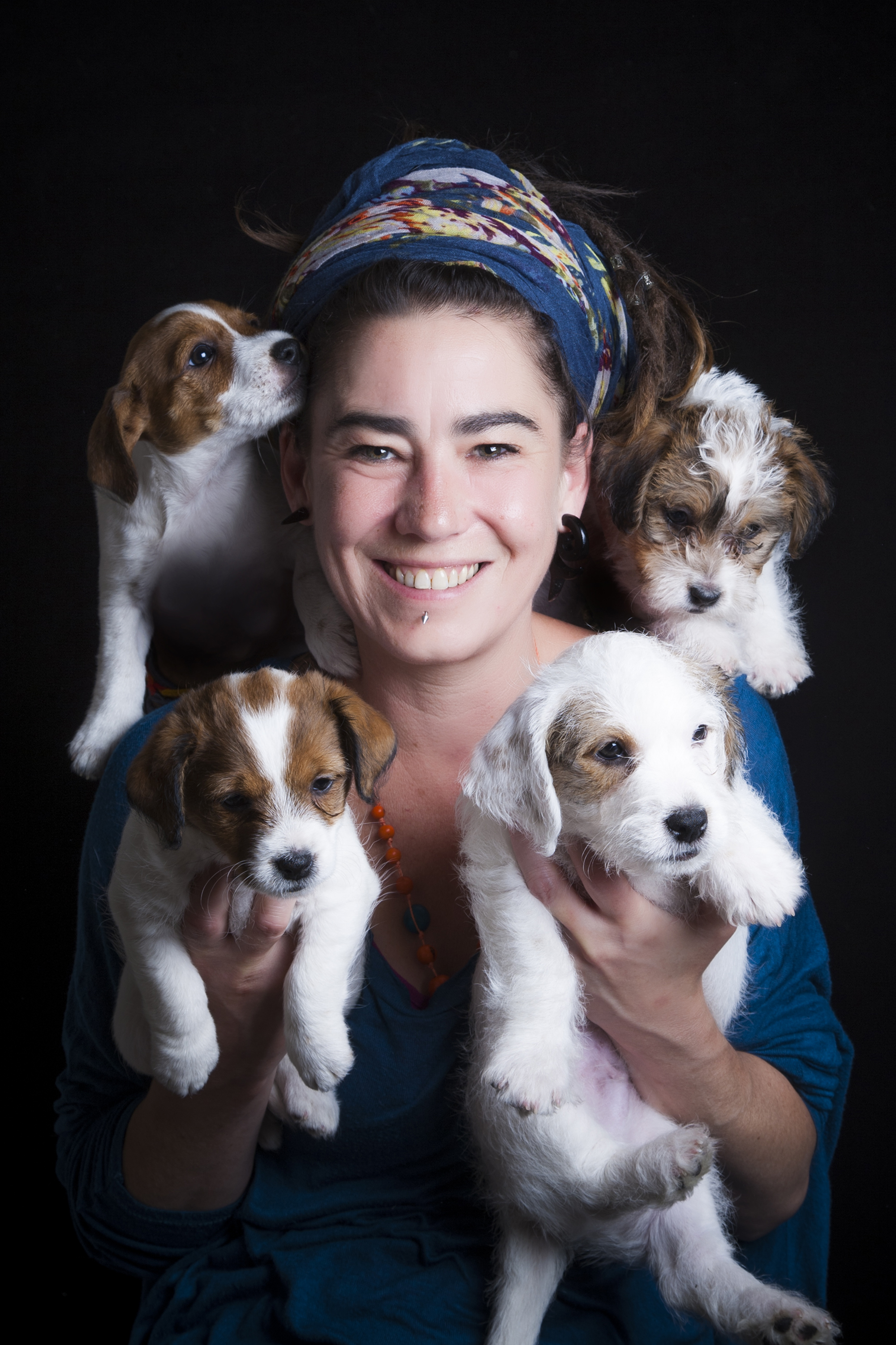 Here's Molly, Mabel, Morris and Madge and Michelle in the middle!