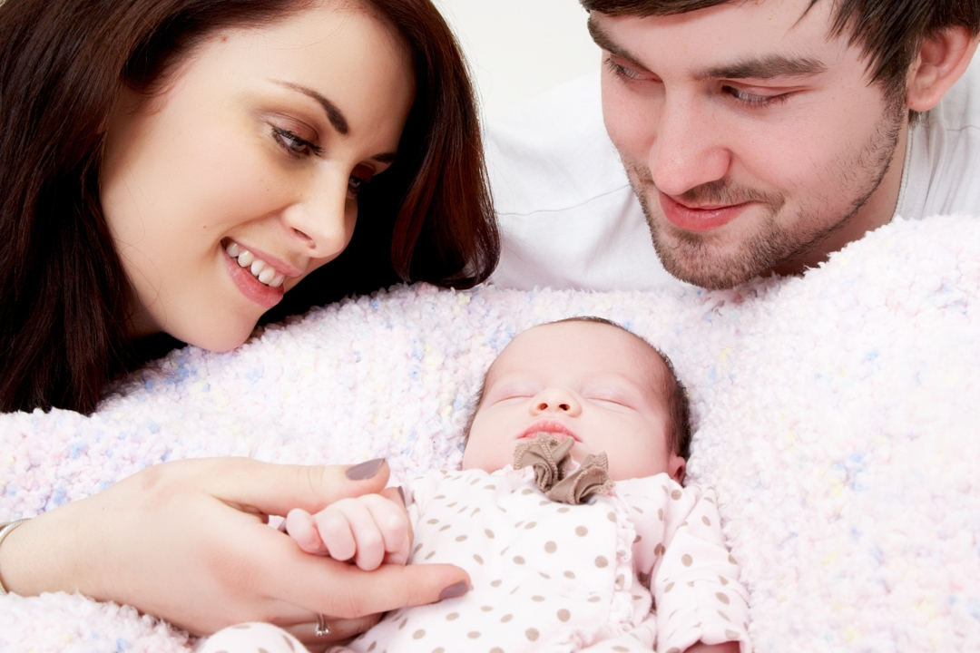 her little baby girl... -