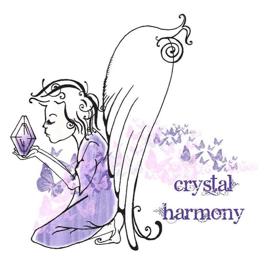 Crystal Harmony - Salt Lamp Tea Light & Crystal Chakra