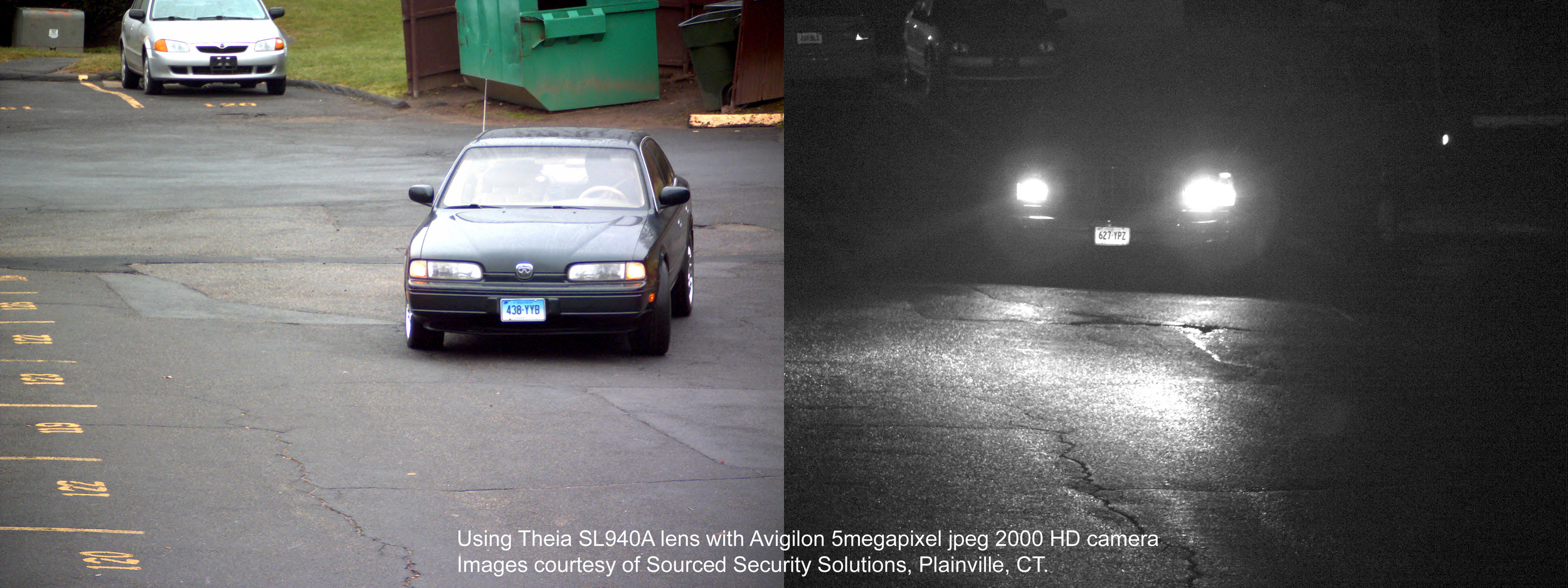 License plate recognition (LPR), just one of the many applications for high quality telephoto lenses.