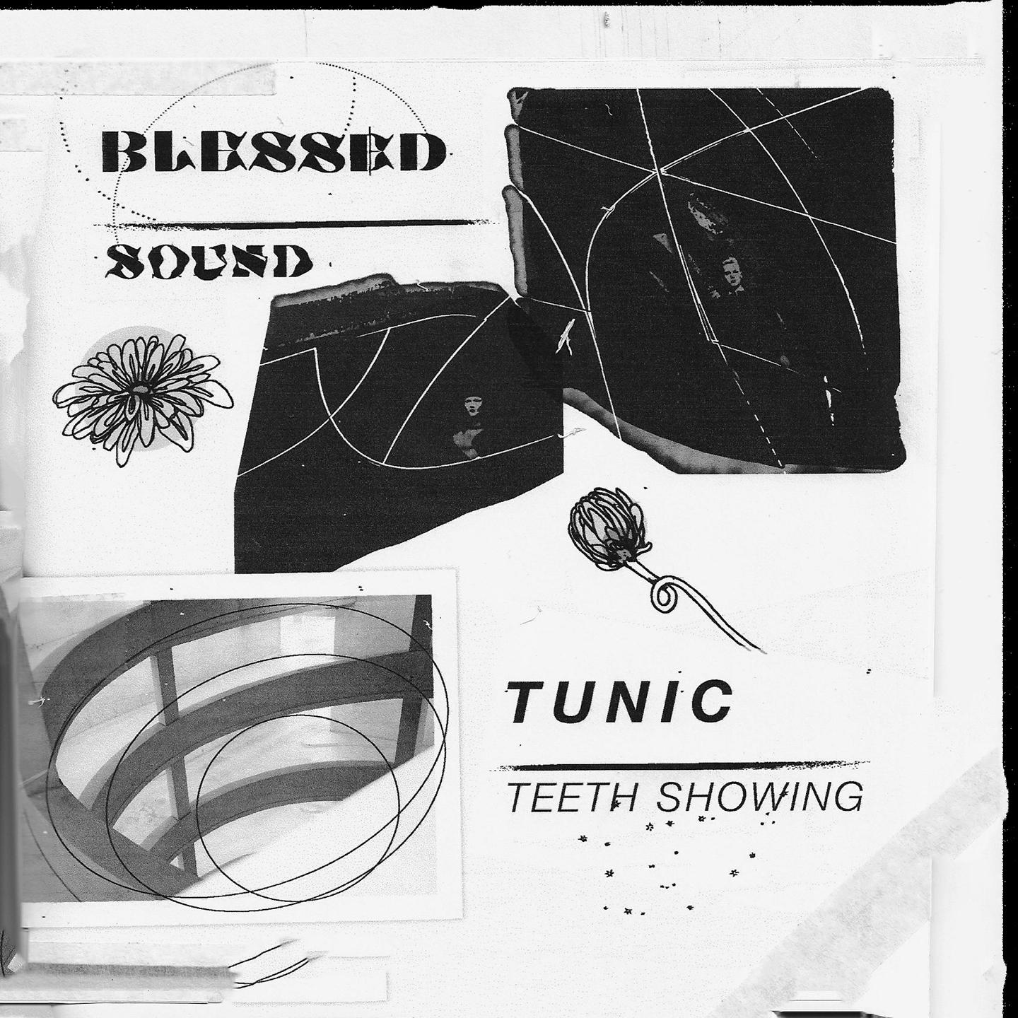 "Pumped to be releasing the split-7"" from two of Western Canada's fines,  Blessed  and  Tunic!    Head over to   Stereogum   for the premiere of Sound / Teeth Showing and catch them on their ridiculous   upcoming US/CAN tour  ."