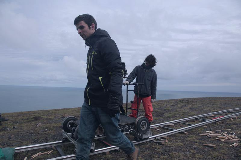 Torr film crew tracks