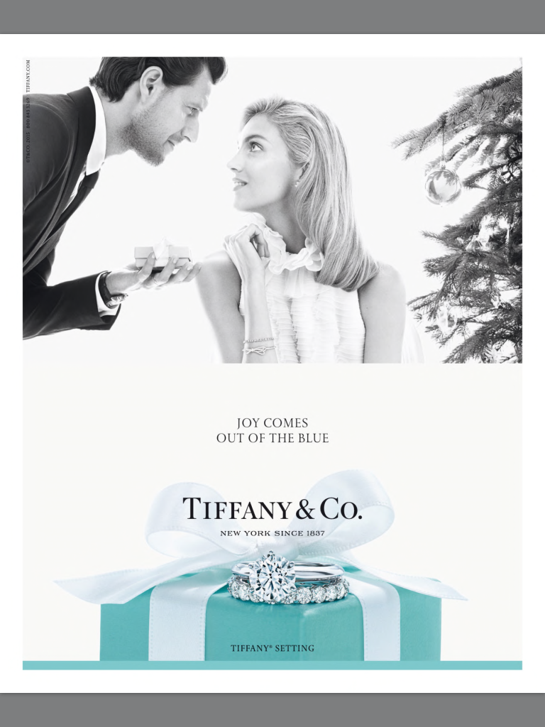 Tiffany & Co.  always makes the most romantic campaigns. This is currently my favorite one.
