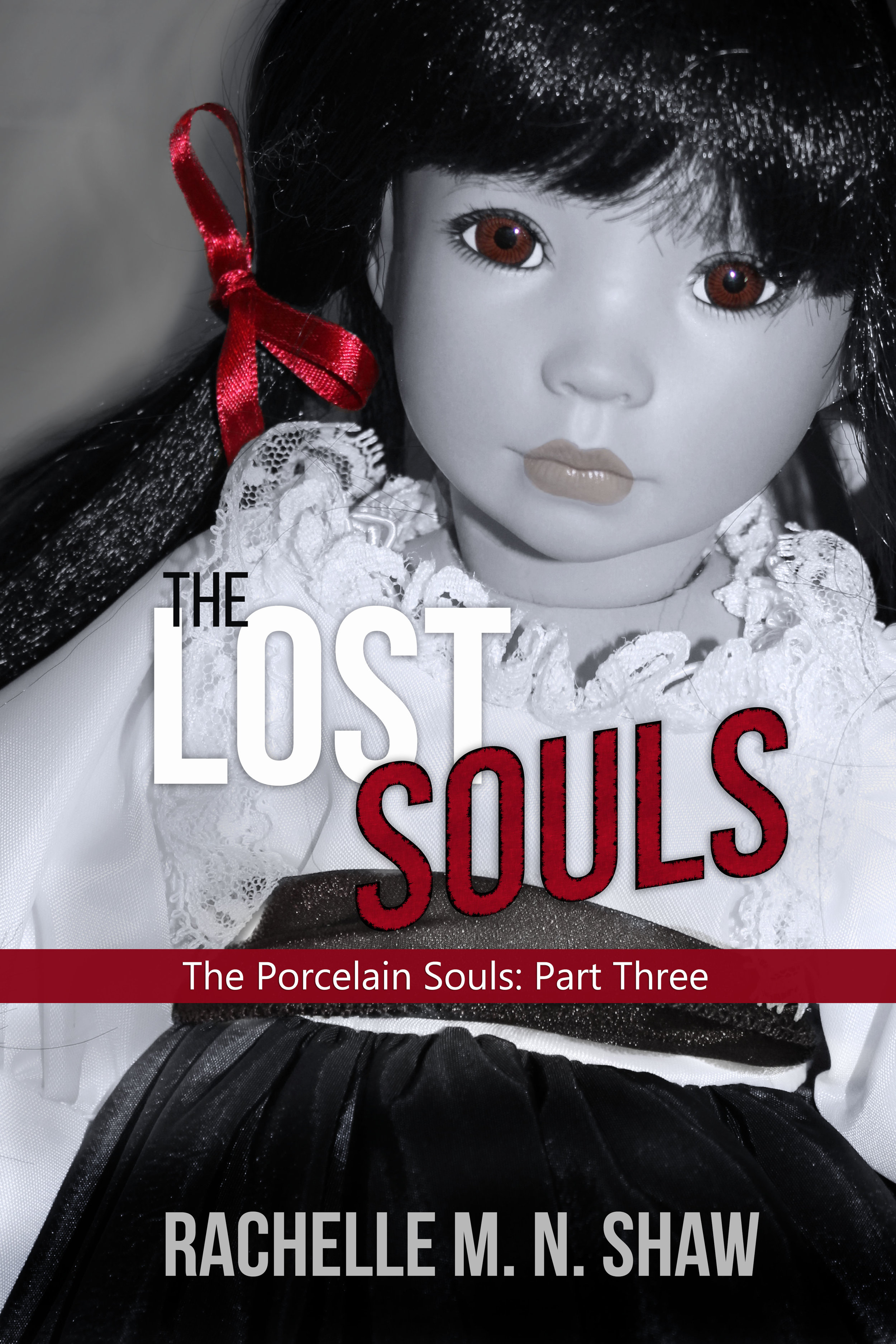 Part 3 of The Porcelain Souls Series: The Lost Soul - Pre-order coming soon to Amazon!A dead cop and a string of mysterious disappearances set the town of Credence on edge. Despite the growing dangers surrounding the Whitson house and the chilling warnings left by her ancestors, Huiliang Zui risks ties with her family and breaks into the abandoned building to find answers. But the tortured spirit residing there demands blood, seeking to eradicate his past life's miseries and complete his collection.When Alex Wingate helps Huili out of a tight spot, an unexpected friendship forms. However, it isn't long before old wounds resurface and motives are questioned. Can they overcome past judgements and work together to destroy the demon? Or will they, too, fall victim to his trap and perish like the lost souls before them?In the latest installment of The Porcelain Souls series, the fate of Credence rests on one girl's shoulders. If she fails, they'll all be devoured.