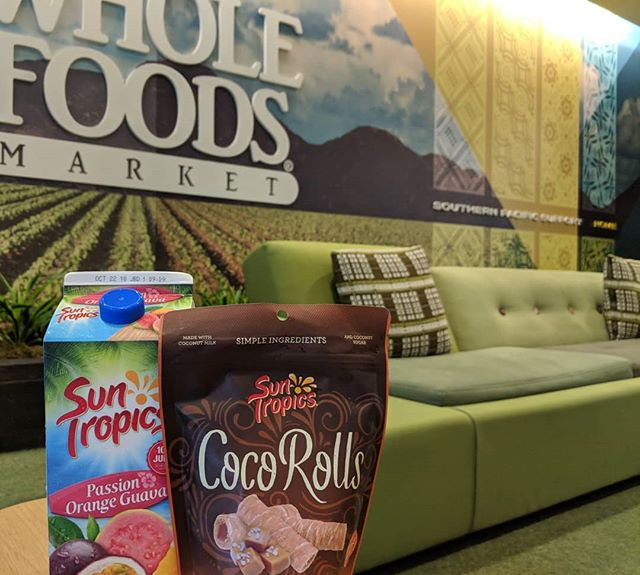 Presenting #SunTropics to #wholefoods #socal office today!