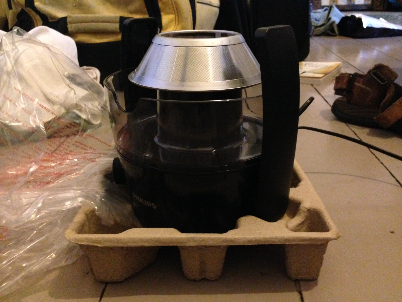 The not-so-compact Juicer!