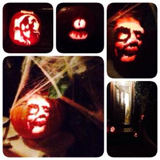 Last years Halloween masterpieces