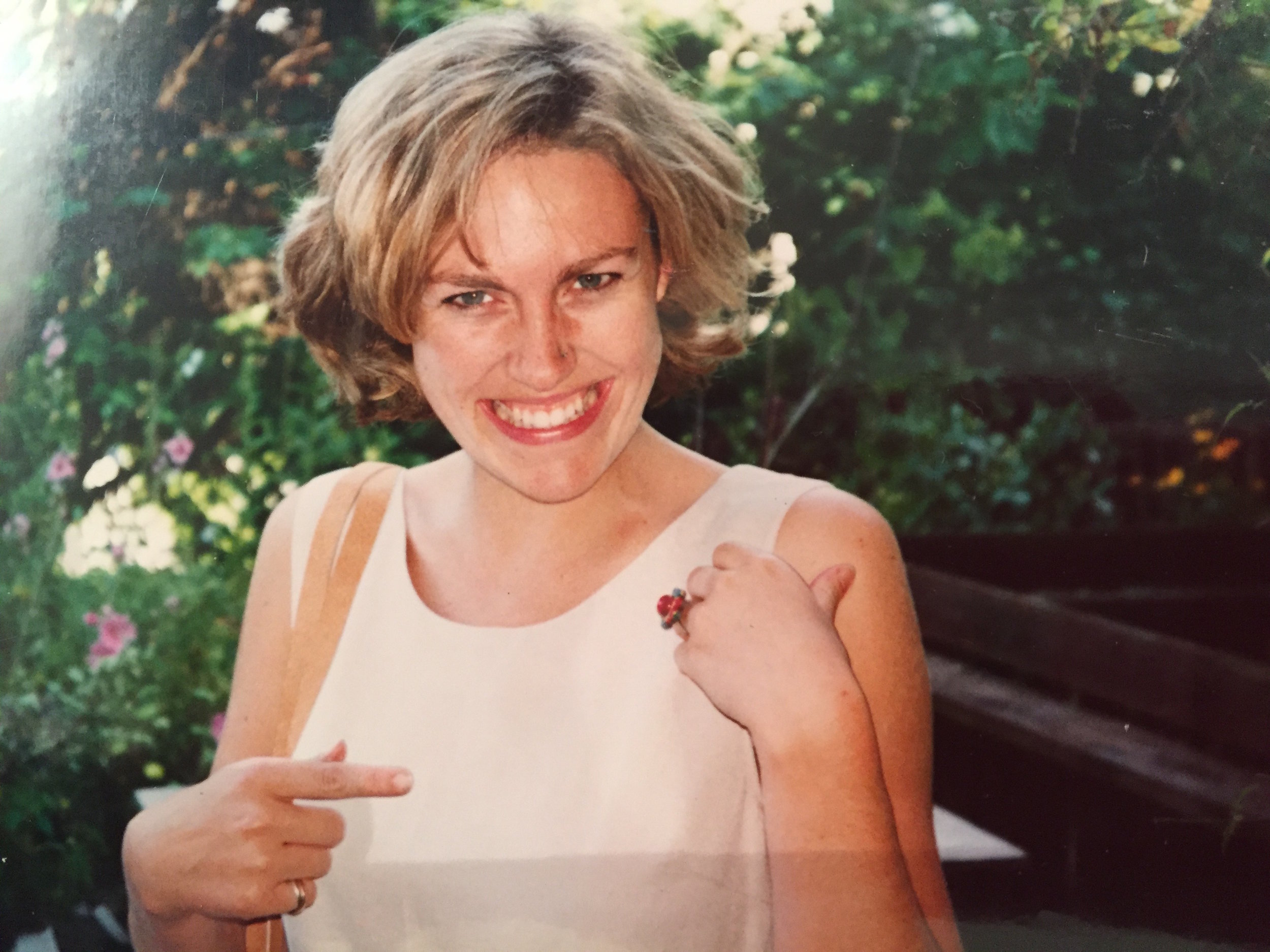 This was taken soon after dad proposed to mum with a temporary engagement ring.Mum was just 23.