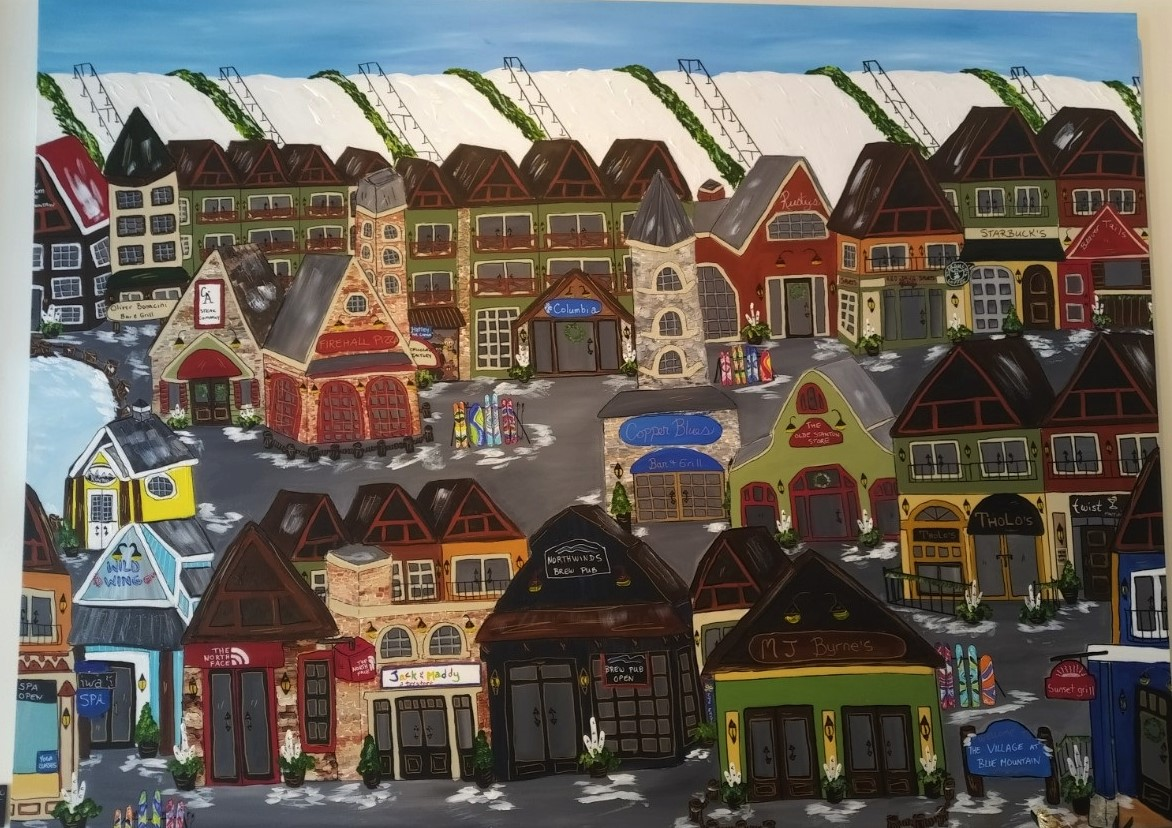54 x 72 Village Scene.jpg