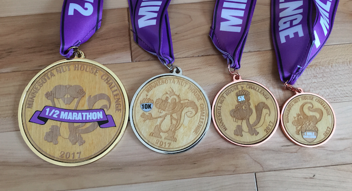 ***image above is of 2017 medals***