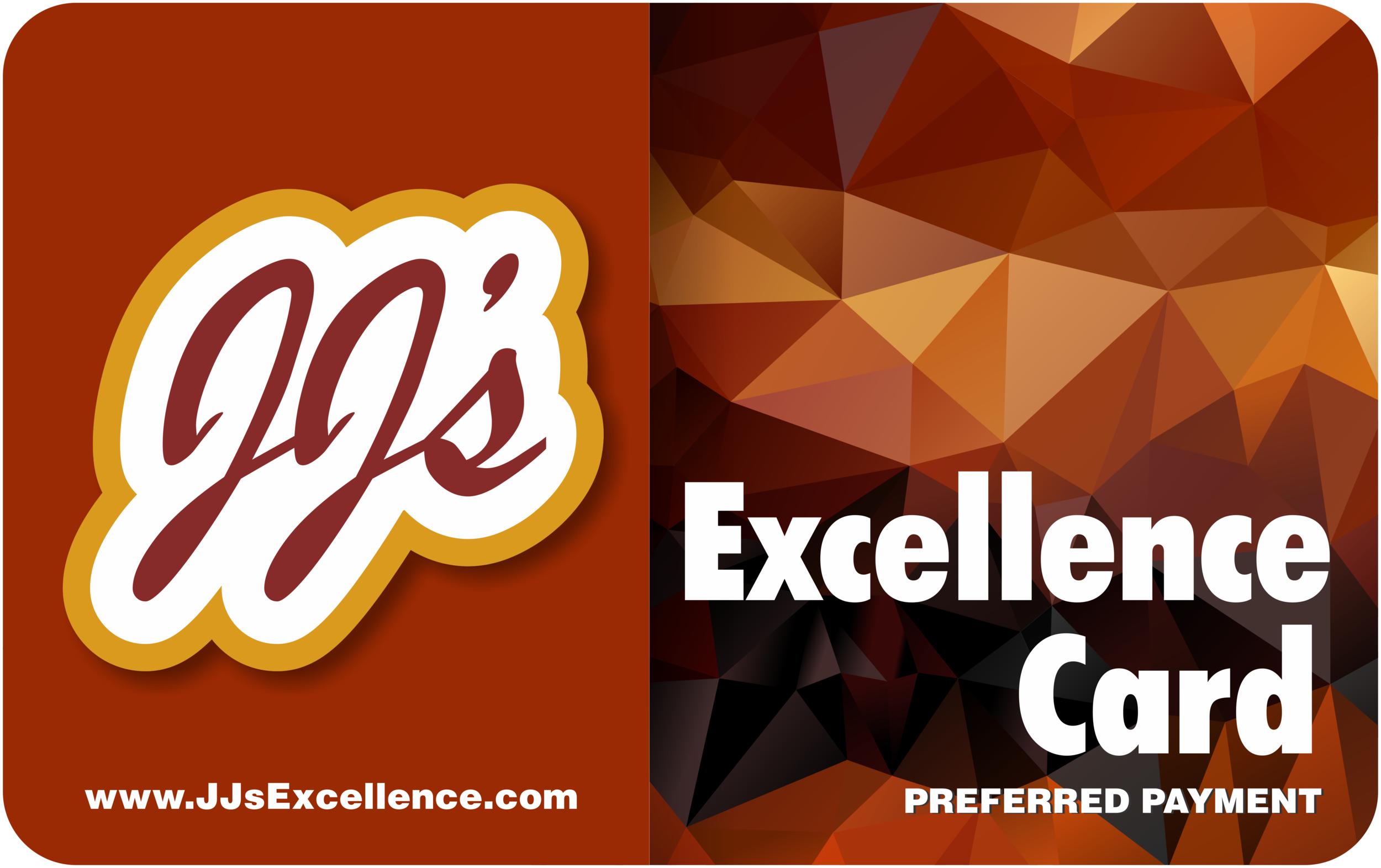 JJ's Excellence Card - Save 7 Cents on Every Gallon!