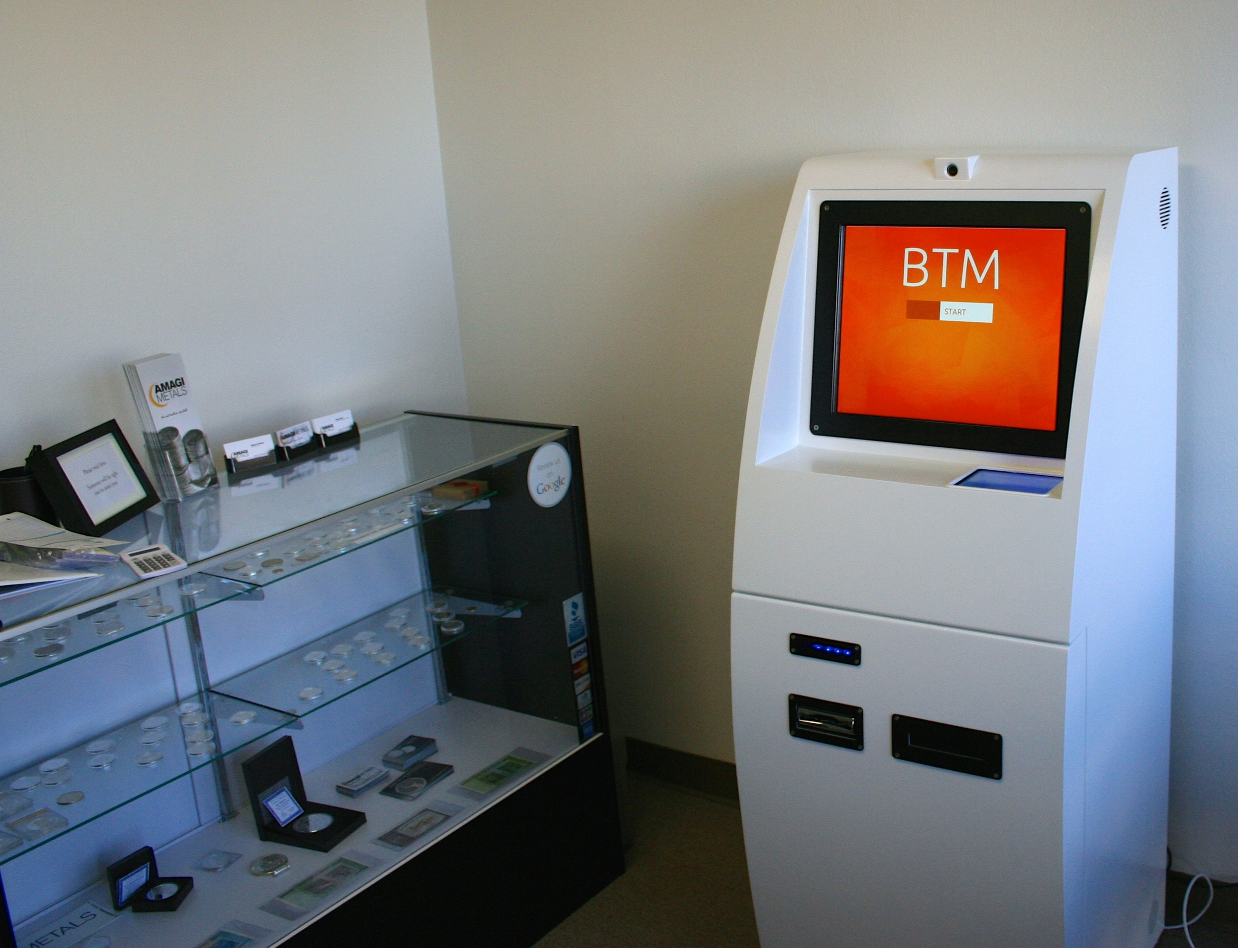XBTeller Bitcoin ATM - Inside Amagi Metals