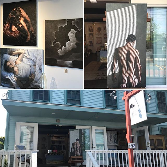 Now showing at the Woodman/Shimko Gallery on the East End of P-town on Commercial Street, come check it out!  #woodmanshimkogallery #woodmanshimko #provincetown #gayart