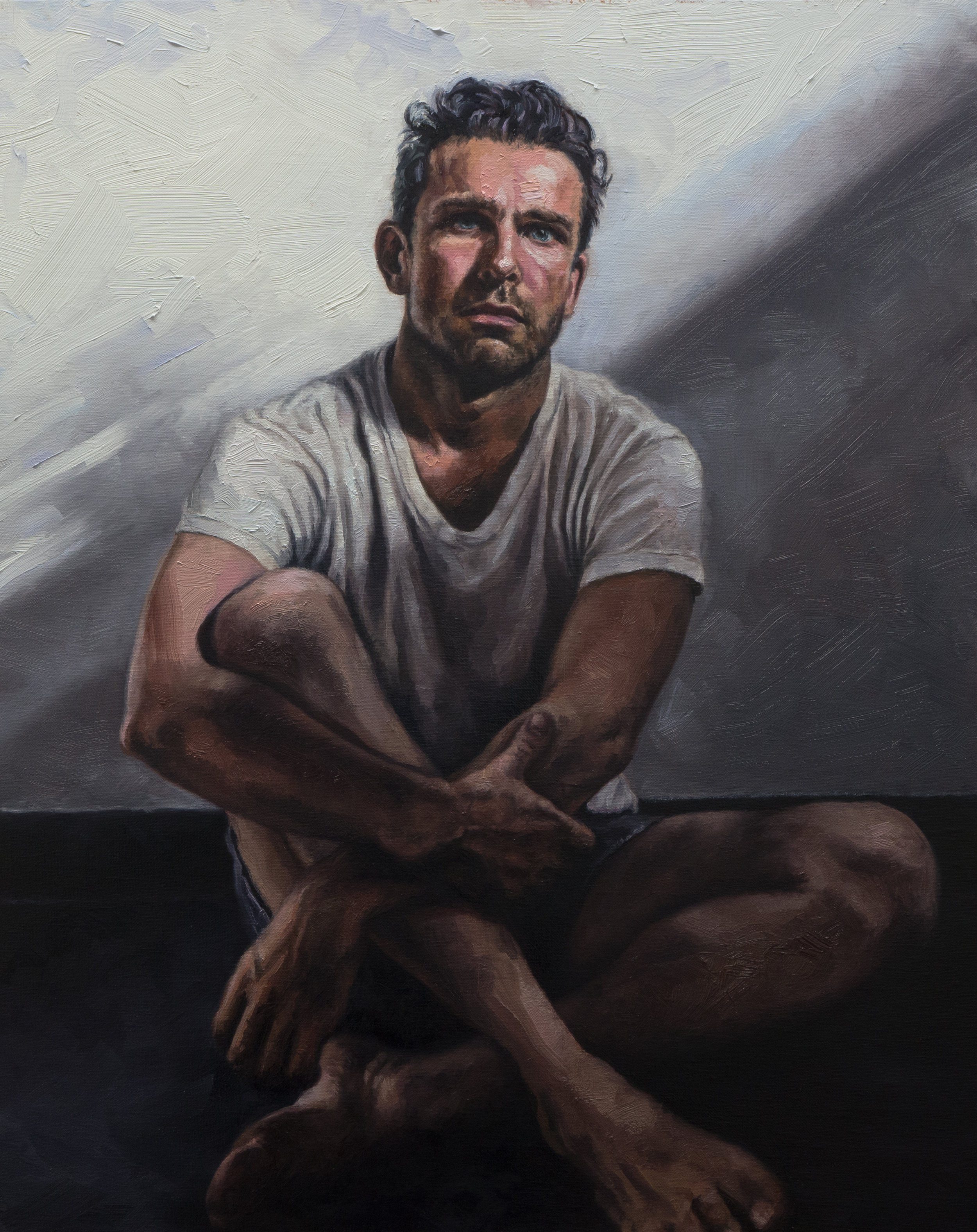Joe / Oil on Stretched Linen / 24 x 30 in