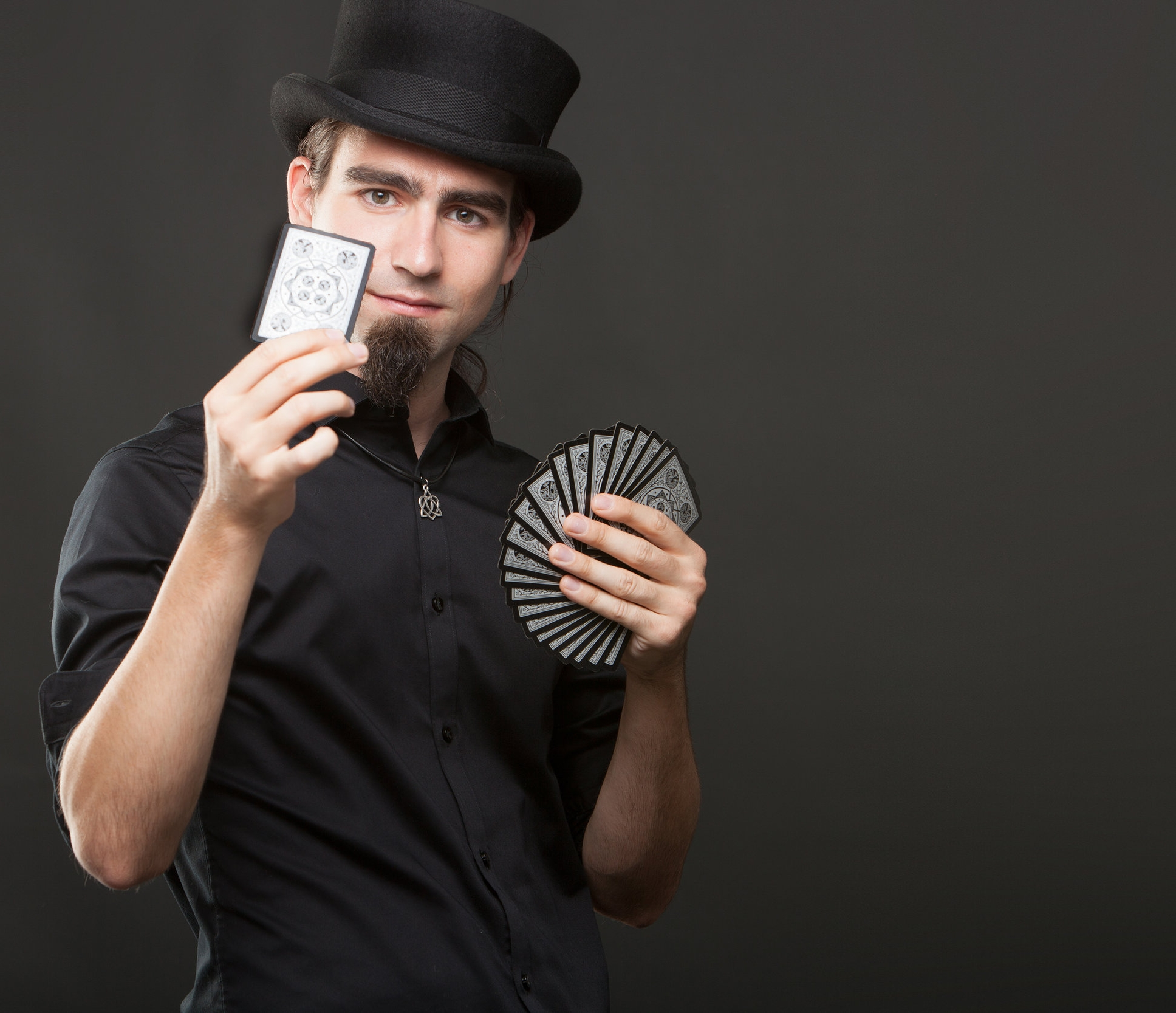 About Spencer: - Spencer Scurr is a Toronto-based magician with a talent for bringing magic right into the audience's own hands. Over the past 10 years, Spencer has brought his magic up-close to thousands of audiences at parties, company events, and festivals, as well as regular performances at Toronto's Harbourfront Center & Detroit's Motor City Casino.Always striving to perfect his craft, he has studied and trained in Las Vegas with some of the greatest minds in magic.Spencer believes that the best magic shouldn't just amaze the audience, but should also leave each person with a story they can't wait to tell.With this philosophy, some coins, a deck of cards, some ropes, and plenty of charm, Spencer is always ready to make each performance unforgettable.