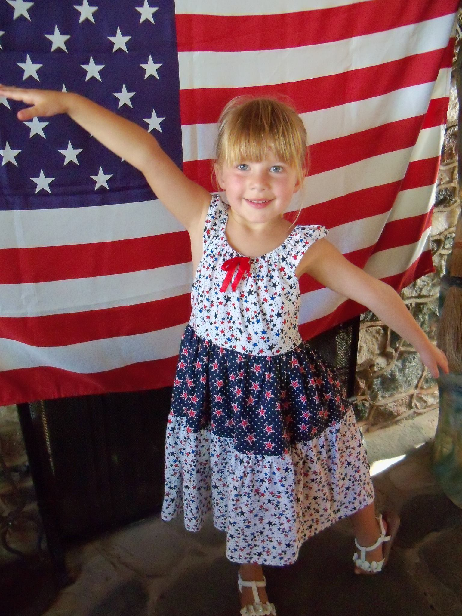 4th of July girl