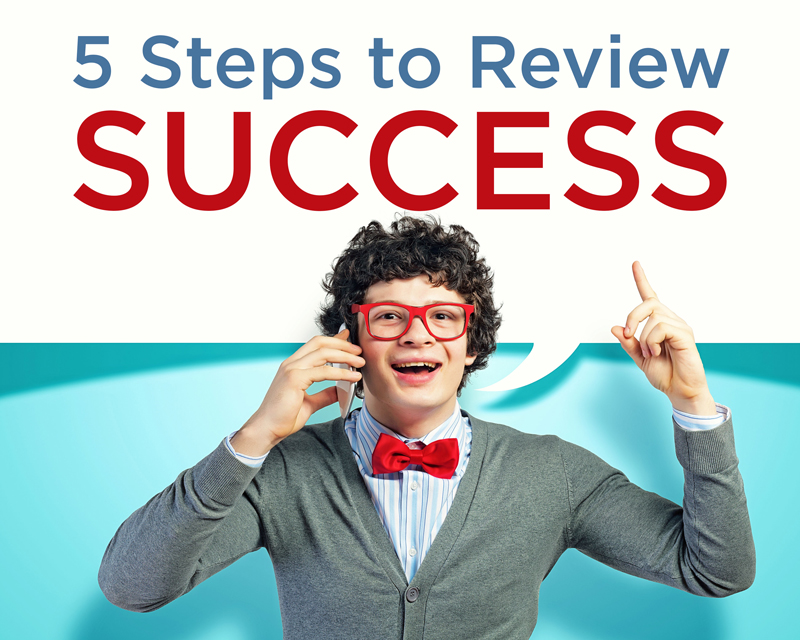 5 Steps to Review Success - Review fundamentals that will show companies how to create an internal culture and process to generate 5 star reviews across any medium they value.