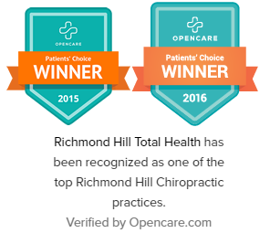Opencare Patient Choice Winner Top Richmond Hill Chiropractic clinic