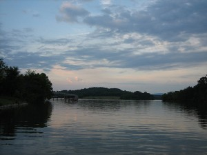 Tellico Lake, Tennessee, now occupies much of Chapman's study area. Photo Credit: Lisa C. Chamberlain