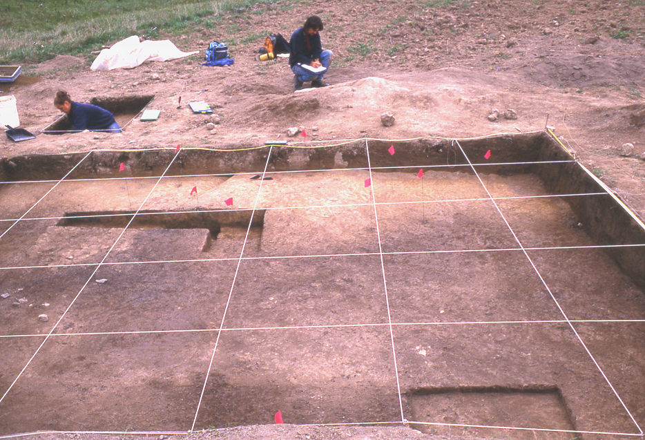Excavations at Concentration 23B.1
