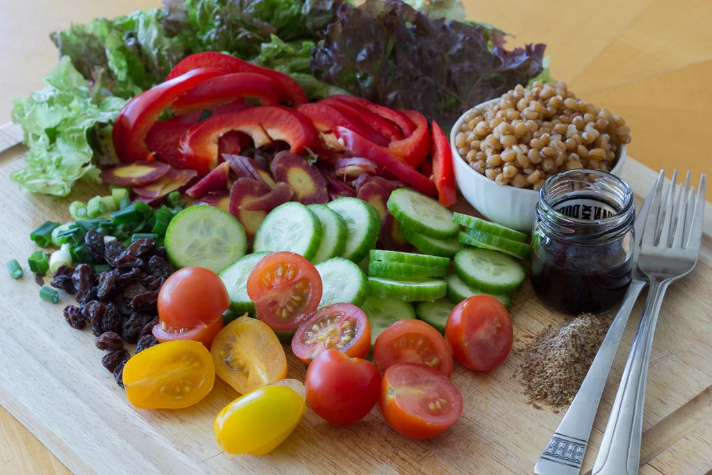 Salad, Deconstructed