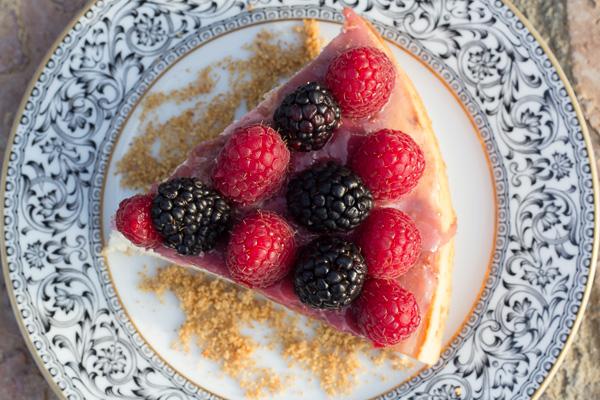 Sugar-free low fat cheesecake