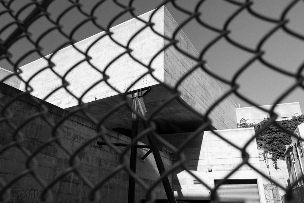 Former BAMPFA - Fenced Off