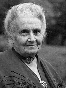 Maria Montessori, 1870-1952.
