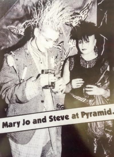 """Joey """"Mary Jo"""" : 80s punk queen."""