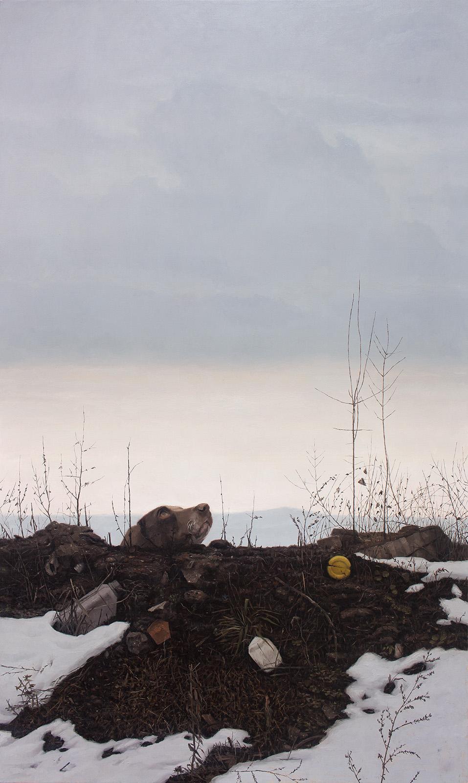 Refuse Heap (after Goya's Dog)