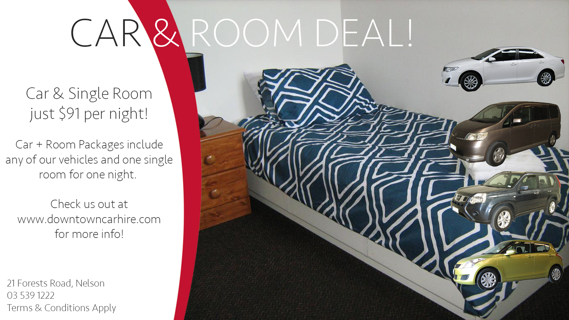 Car + Room Deal - Single Room.jpg
