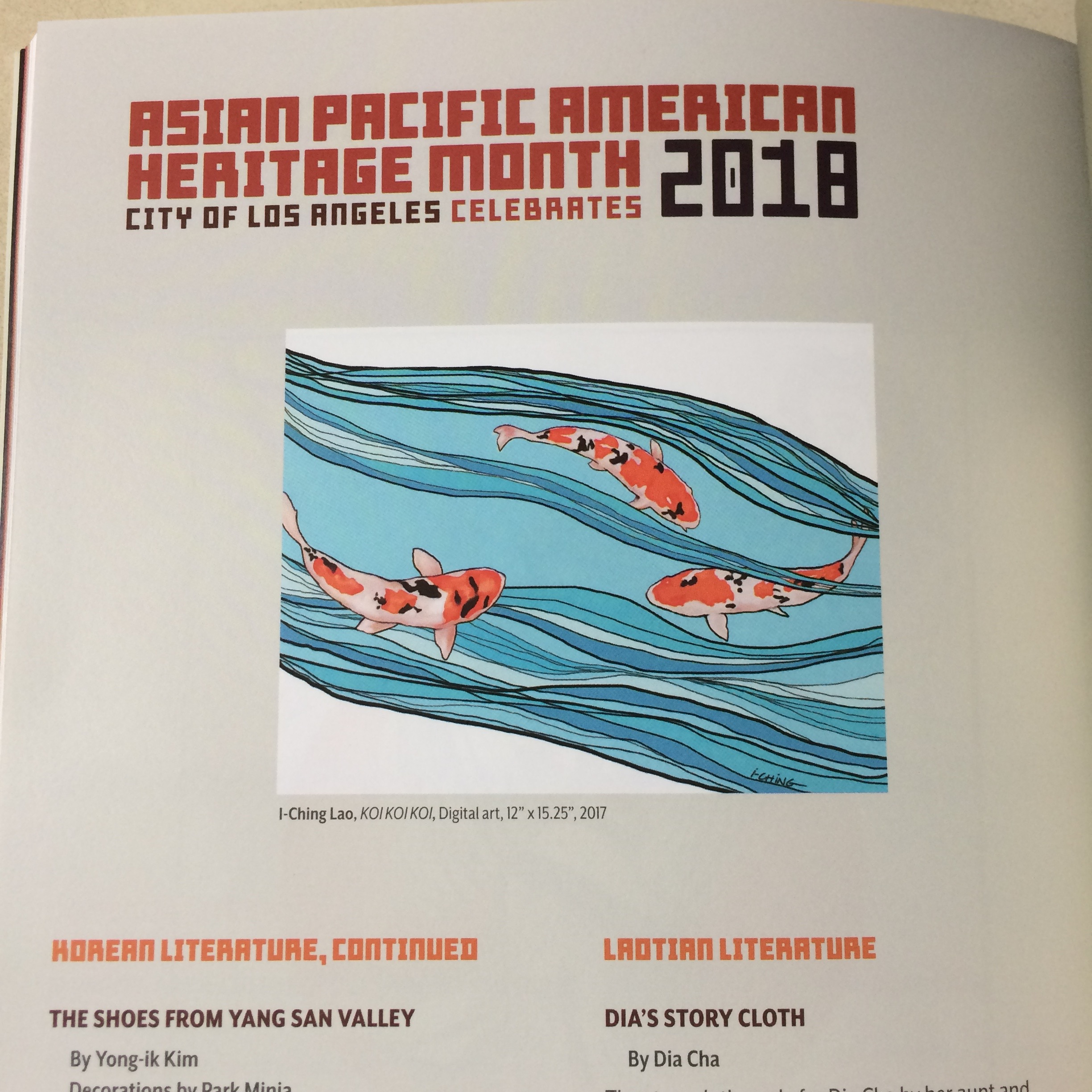 Asian Pacific American Heritage Month Cultural Guide 2018