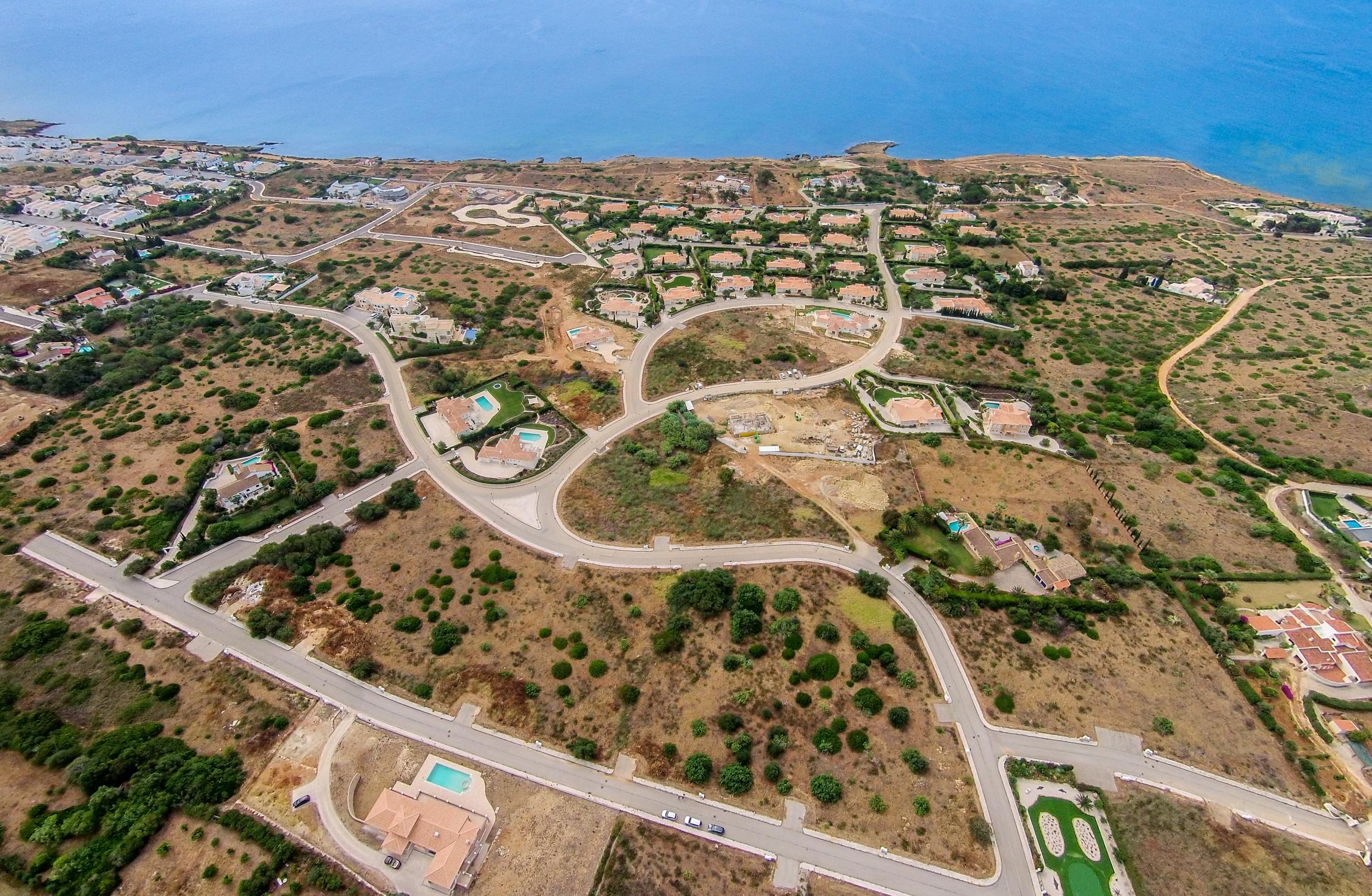 Reserva da Luz aerial view