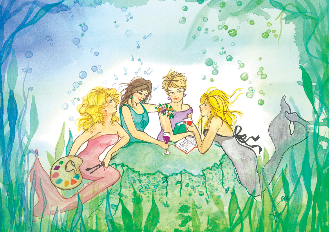 ME62 Mermaid Party