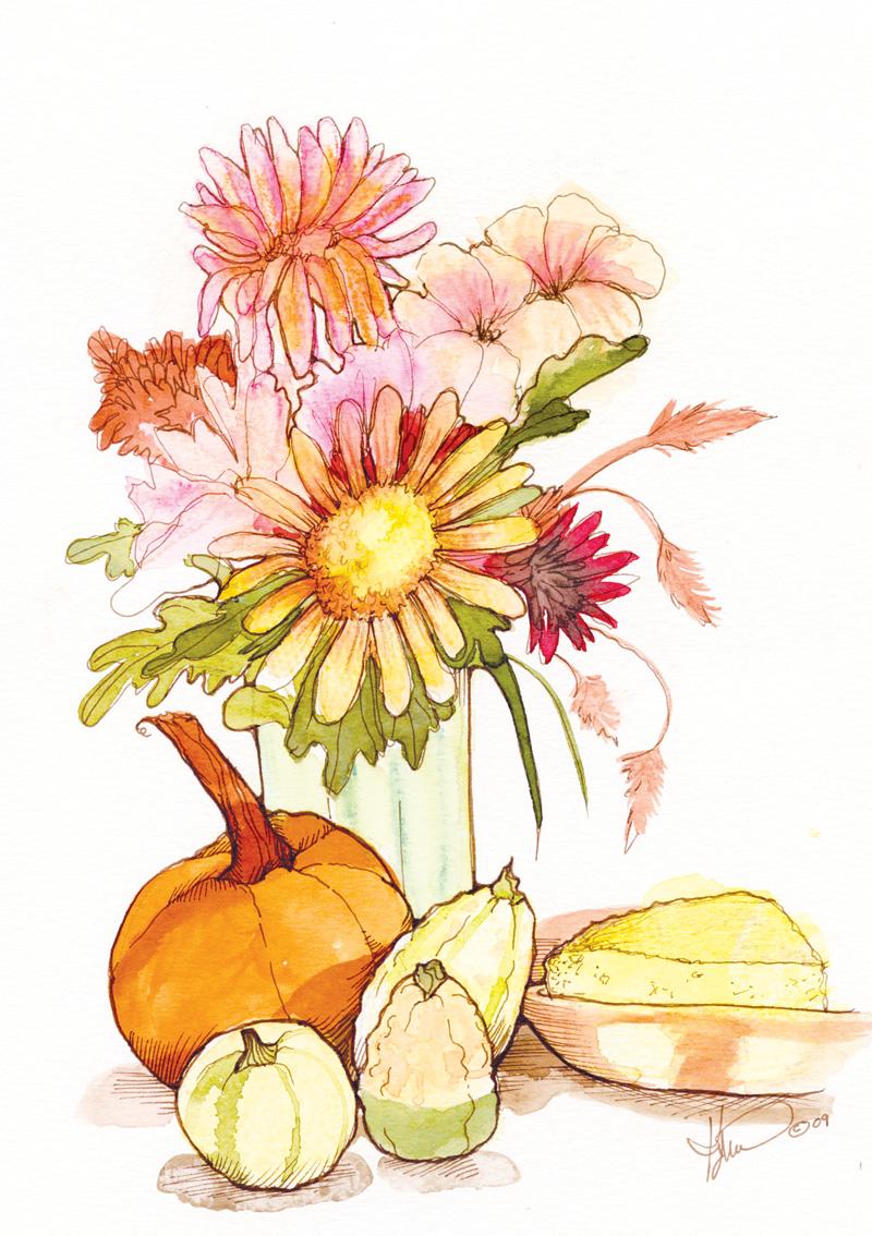 NO09 Harvest Bouquet