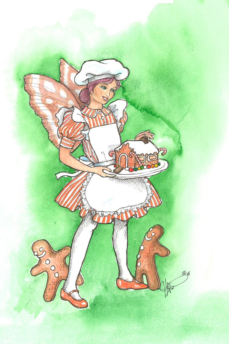 FR20 Gingerbread Fairy