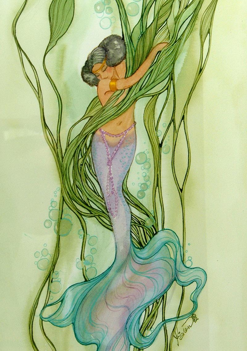 ME17 African Mermaid