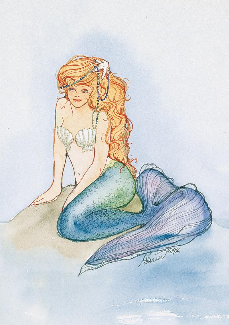 ME16 Beaded Mermaid