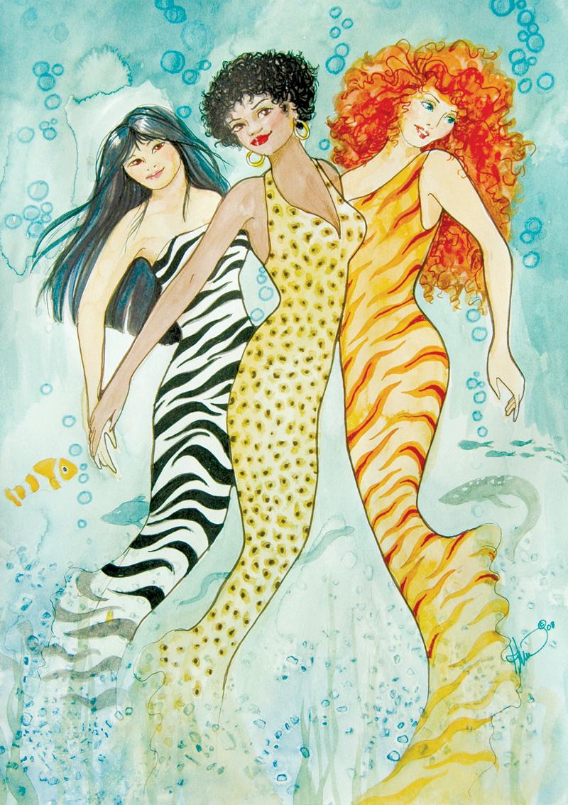 ME56 Wild Mermaids
