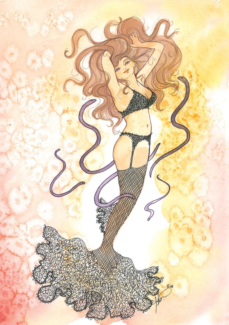 ME59 Fishnet Mermaid
