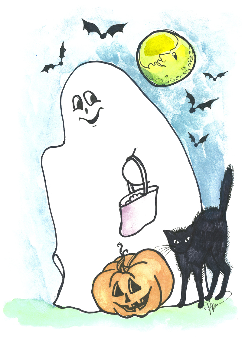 HA01 Boo! (Ghost)