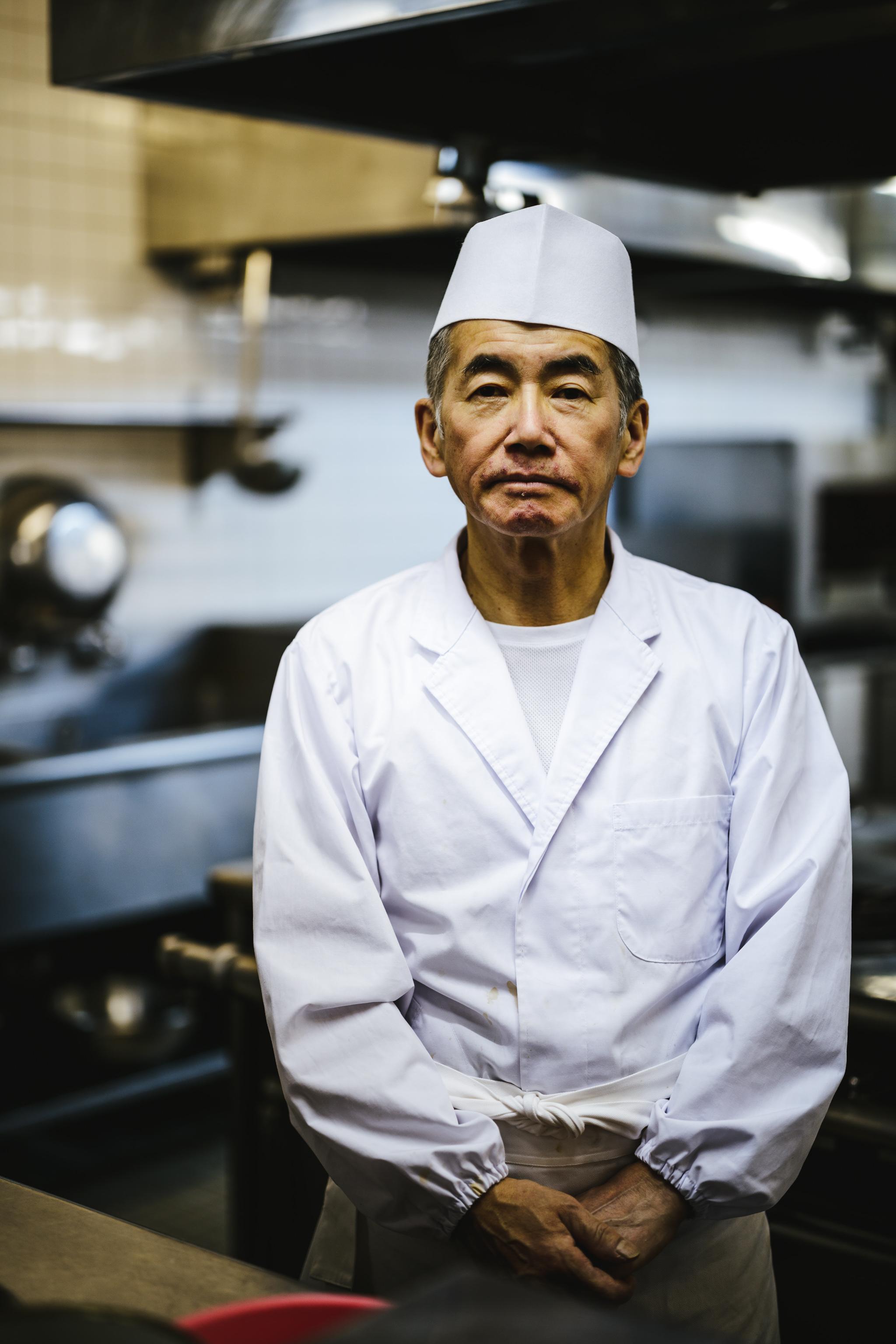 Rusutsu sushi chef profile