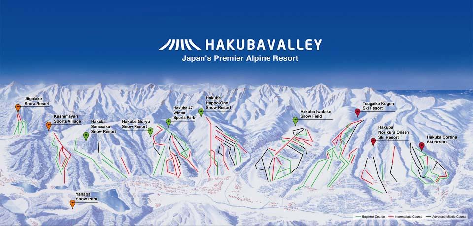 hakuba Valley Ski Areas