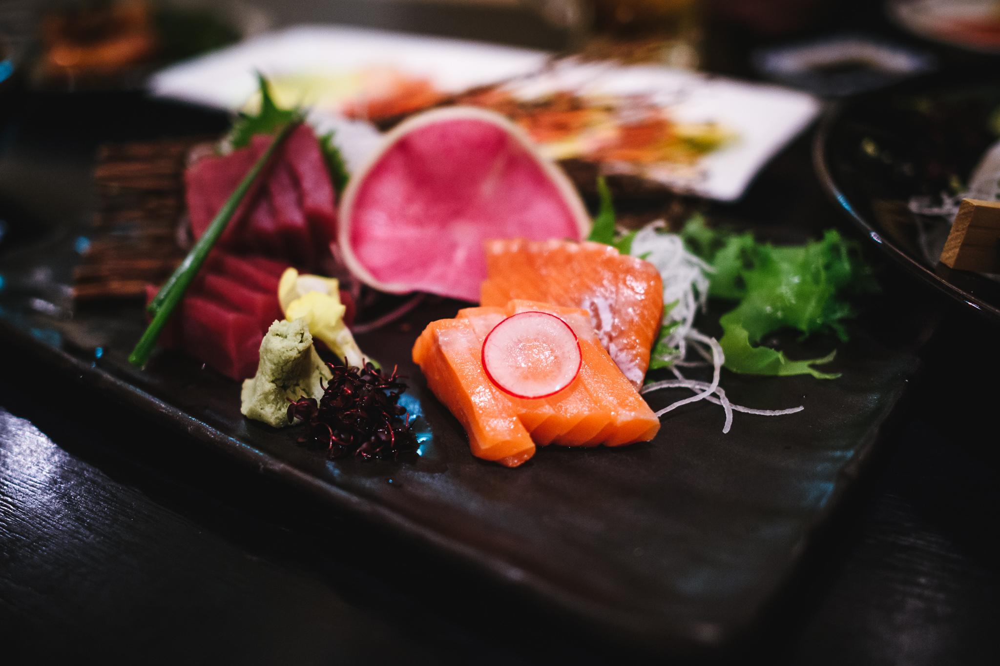 Rusutsu Resort sushi