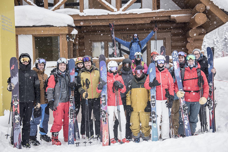 Group photo snowlocals