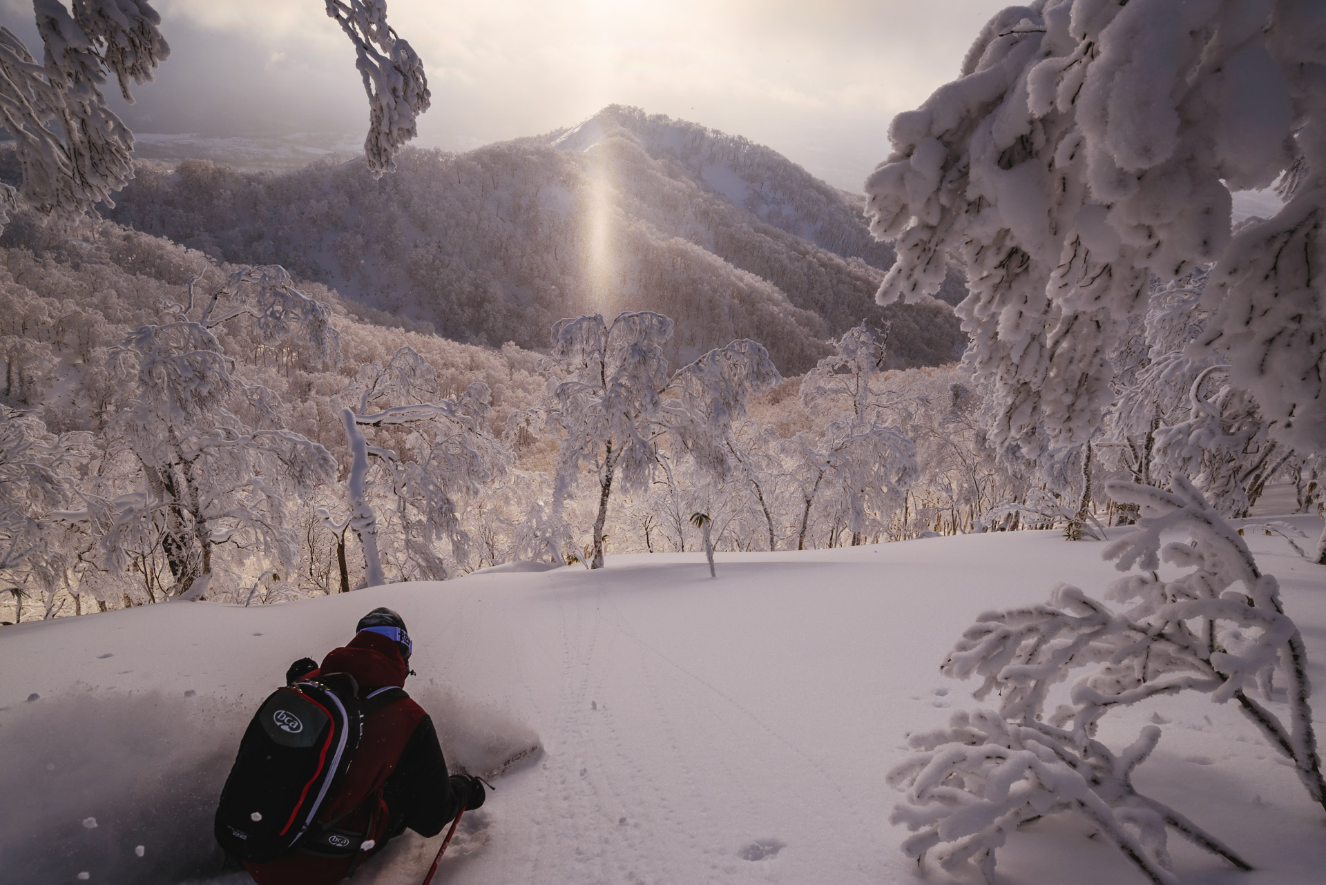 SnowLocals Sunset shot