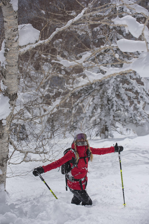 alone in the snow - snowlocals