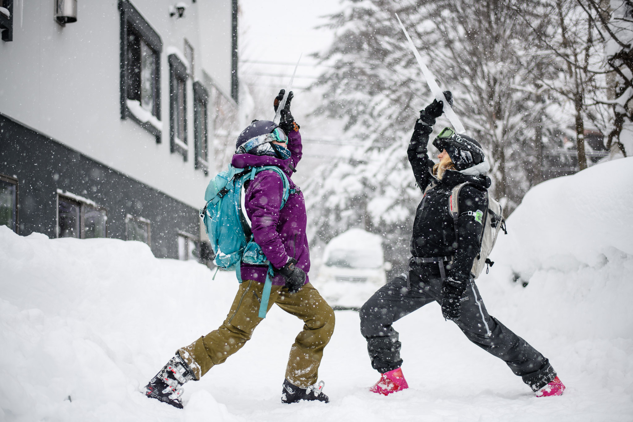 snowlocals ski and yoga retreat 2019